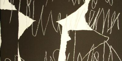 """o. T., aus der Lyrik-Grafik-Mappe """"die gunst der woge ist gischt"""""""