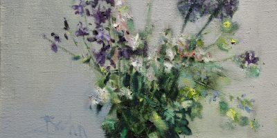 """Allium und Akelei"""